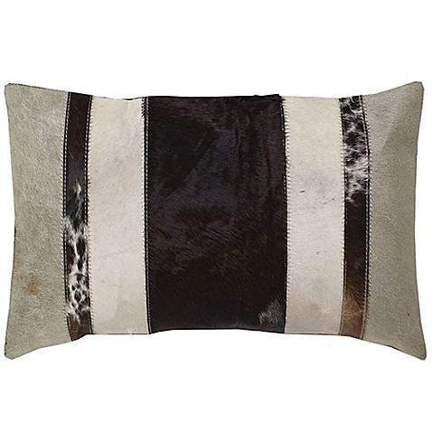 Throw Pillow Rectangle : Aura Stripe Hair Rectangle Throw Pillow - Bed Bath & Beyond