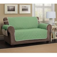 5 Star Sofa Protector in Green/Ivory