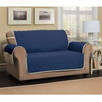 5 Star Sofa Protector in Navy/Ivory