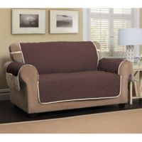 5 Star Extra Large Sofa Protector in Chocolate/Ivory