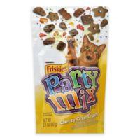 Friskies Party Mix Crunch Cheezy Craze 2.1 oz. Cheddar, Swiss & Monterey Jack Flavor Cat Treats
