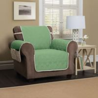 5 Star Chair Protector in Green/Ivory