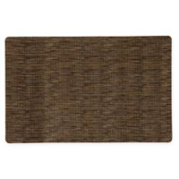 Bungalow Flooring Microfibre Neoprene 23-Inch x 36-Inch Rug in Miller Brown