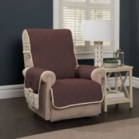5 Star Wingback Chair/Recliner Protector in Chocolate/Ivory