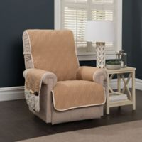 5 Star Wingback Chair/Recliner Protector in Ivory/Toast