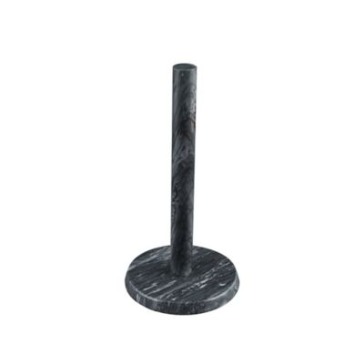 Artisinal Kitchen Supply Marble Paper Towel Holder In Grey