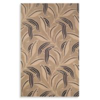 Leaf 5-Foot x 8-Foot Room Size Rug in Neutral