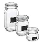 Bormioli Rocco Fido Hermetic Chalk Jar (Set of 3)