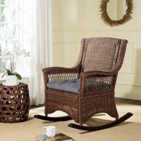 Safavieh Aria Rocking Chair in Brown