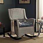 Safavieh Aria Rocking Chair in Antique Grey