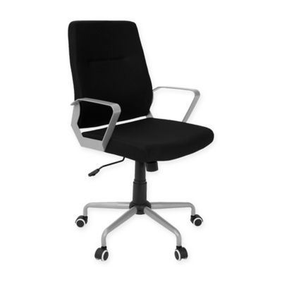 lumisource zip office chair in blackgrey buy home office