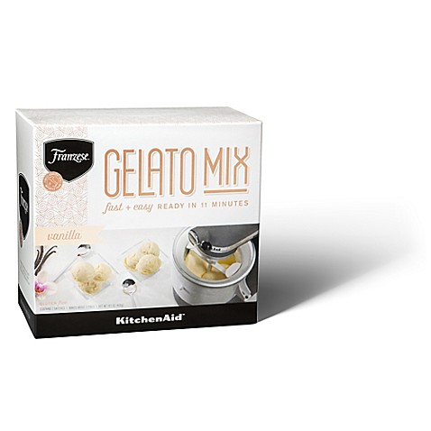 Kitchenaid 2 pack fanzese gelato vanilla mix bed bath beyond - Gelato kitchenaid ...