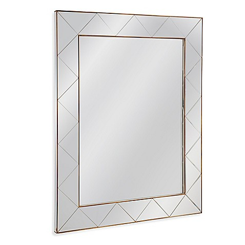 Bassett mirror company belgian luxe 40 inch x 50 inch for Mirror 50 x 50