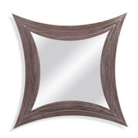 Bassett Mirror Company 24-Inch x 24-Inch Atwater Mirror in Weathered Grey