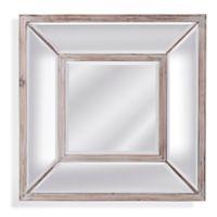 Bassett Mirror Company 24-Inch x 24-Inch Pompano Wall Mirror in Pine