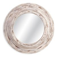 Bassett Mirror Company 36-Inch Mallory Wall Mirror in Antique White