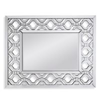 Bassett Mirror Company Hollywood Glam 39-Inch x 48-Inch Rectangle Bel Air Wall Mirror