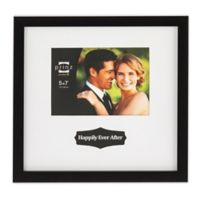 "Prinz Love Notes ""Happily Ever After"" 5-Inch x 7-Inch Matted Styrene Picture Frame"