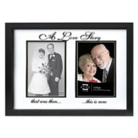 "Prinz Wedding Collection Forevermore ""A Love Story"" Styrene Picture Frame in Black"