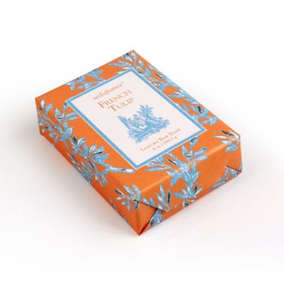 Wonderful Seda France™ French Tulip Classic Toile Bar Of Soap
