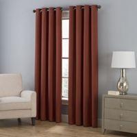 Everett 108-Inch Grommet Window Curtain Panel in Spice