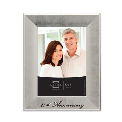Buy 25th Anniversary Frame from Bed Bath & Beyond