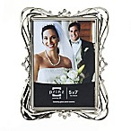 Prinz Wedding Enchanted 5-Inch x 7-Inch Silver Plated Picture Frame