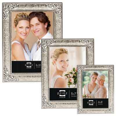 Prinz Wedding Melodie Silver Plated Picture Frame