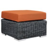 Modway Summon Outdoor Ottoman in Sunbrella® Canvas Tuscan