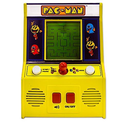 Pac Man Handheld Mini Arcade Game Bed Bath Amp Beyond