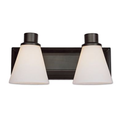 Bathroom Light Fixtures Oil Rubbed Bronze buy oil rubbed bronze light fixtures from bed bath & beyond