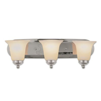 Buy Chrome Lighting Fixtures from Bed Bath & Beyond