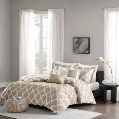 Super Buy Taupe Duvet Covers from Bed Bath & Beyond ZV83