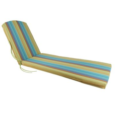 chaise lounge 77inch x 21inch cushion in sunbrella astoria lagoon