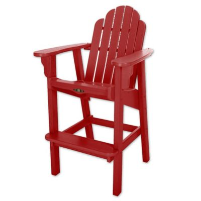 Pawleys Island® Durawood® Essentials High Dining Chair In Red