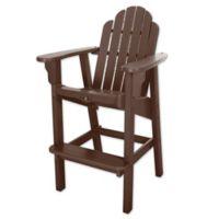 Pawleys Island® Durawood® Essentials High Dining Chair in Chocolate