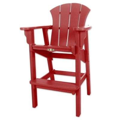 Pawleys Island® Durawood® Sunrise High Dining Chair In Red