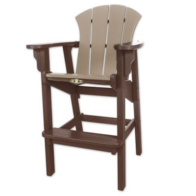 Pawleys Island® Durawood® Sunrise High Dining Chair In Weather Wood
