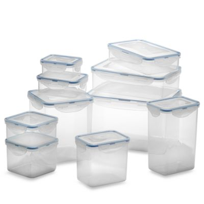 Lock Lock Food Storage Containers Set of 20 Bed Bath Beyond