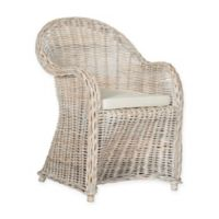 Safavieh Callista Wicker Chair in White