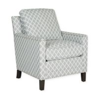 Safavieh Buckler Club Chair in Grey /White