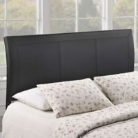 Modway Isabella Polyester Queen Headboard in Black