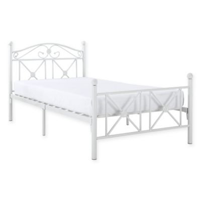 Buy Metal Twin Bed from Bed Bath & Beyond