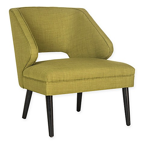 image of Safavieh Duffy Accent Chair in Sweet Pea