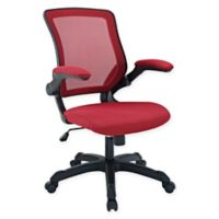Modway Veer Mesh Office Chair in Red