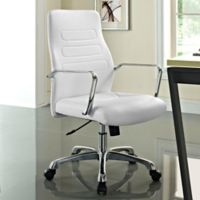 Modway Depict Mid-Back Office Chair in White