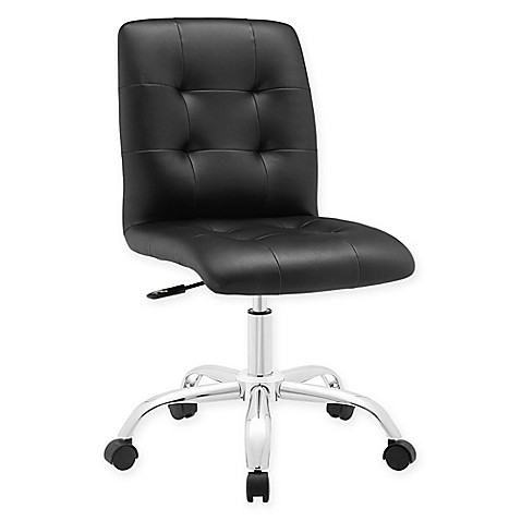 Modway Prim Armless Mid Back Office Chair Bed Bath Amp Beyond