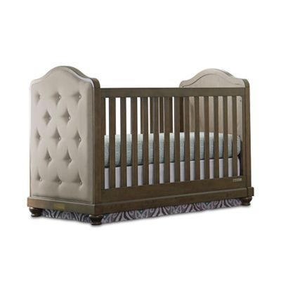 Exceptional Convertible Cribs U003e BassettBaby® PREMIER Parker Upholstered 3 In 1 Crib In  Cobblestone