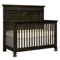 Stone & Leigh by Stanley Furniture Smiling Hill Built-To-Grow Crib in Black Licorice