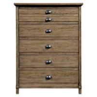 Stone & Leigh by Stanley Furniture Driftwood Park 5-Drawer Chest in Sunflower Seed